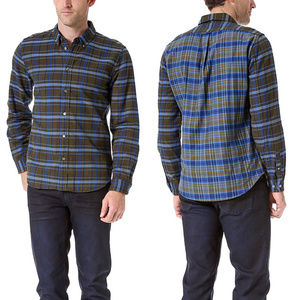 MARC BY MARC JACOBS Greenwich Plaid Flannel Shirt